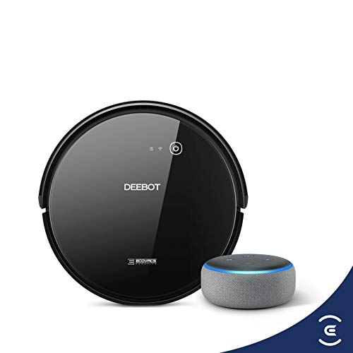 Ecovacs Deebot 601 robot vacuum cleaner with Echo Dot
