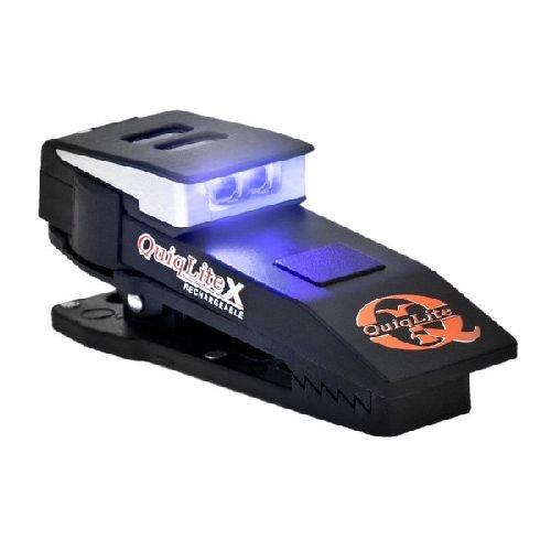 Quiqlite QuiqLiteX USB Rechargeable Plastic Housing 20-150 Lumens Blue/White Q-XBW