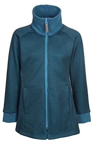 Elkline Mädchen Fleecejacke Adriana, Größe:116/122, Farbe:Blue Coral