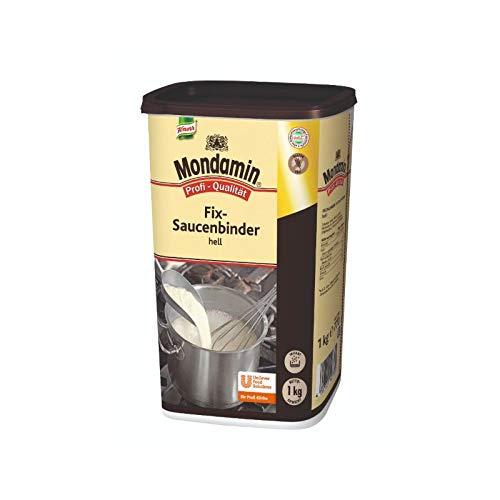 Mondamin Fix-Soßenbinder hell (klumpenfrei, geschmacksneutral) 1er Pack (1 x 1 kg)