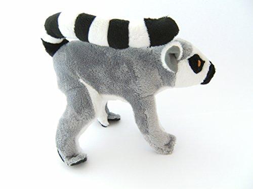 Unbekannt Stofftier Katta 33 cm mit Schwanz Kuscheltier, Plüschtier, Lemur
