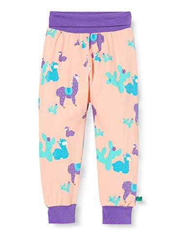 Fred'S World By Green Cotton Lama Pants Pantalon, Multicolore (Peach 014132402), 58 (Taille Fabricant: 56) Bébé Fille