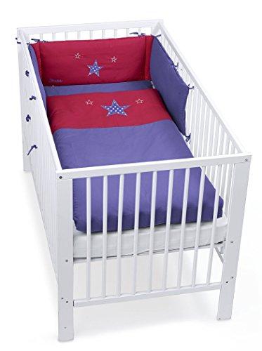 STERNTALER 9241511 Bettset Nestchen und Kinder Bettwäsche Kira die Katze