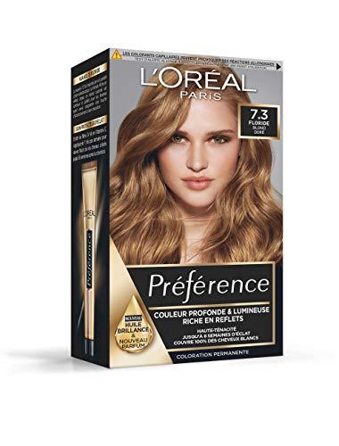 L'Oréal Paris Préférence Coloration Permanente Cheveux, Nuance : Stockholm (10.21), Blond Très Très Clair Perlé
