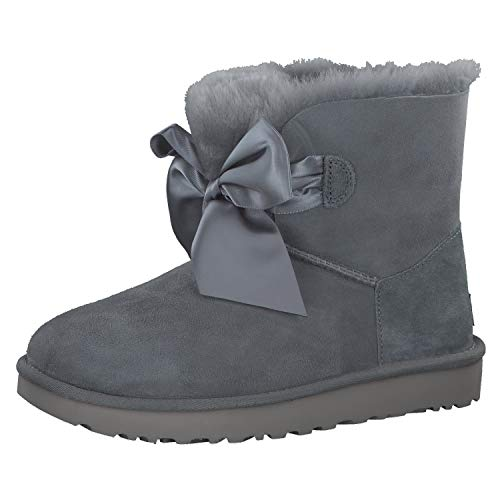 UGG Damen Gita Bow Mini Classic Boot Grau 42
