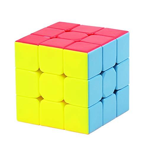 Coolzon Zauberwürfel 3x3x3 Speed Cube, Stickerless 3x3 Magic Puzzle Cube Zauber Würfel für Kinder und Erwachsene