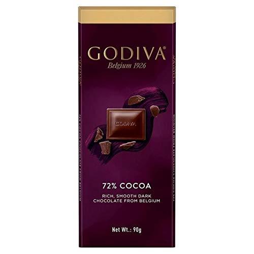 Godiva Pure Dark Chocolate 72% Cocoa Bar 90g