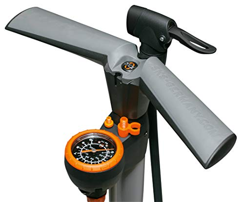 SKS Air Worx - Bomba de pie para hinchar Bicicletas 1