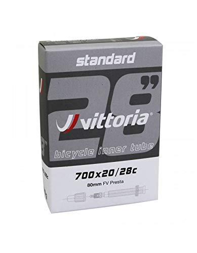 Vittoria Camera D'Aria Bicicletta 700 x 23-28 Lite Valvola Presta Lunghezza 80mm
