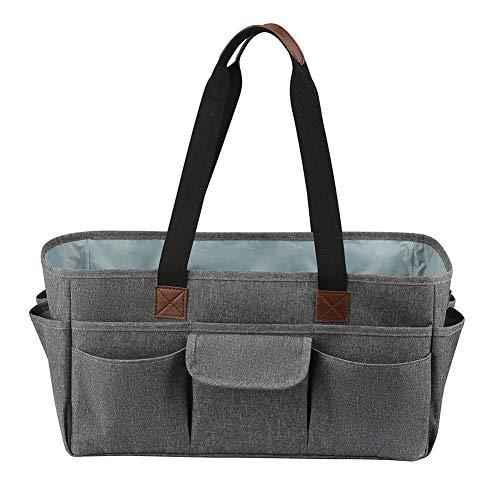 CareMont Handwerk und Kunst Tasche für ZubehhR mit Taschen, Oxford Einkaufen Tasche für KüNstler, Kinder, Lehrer, Organisator Aufbewahrung