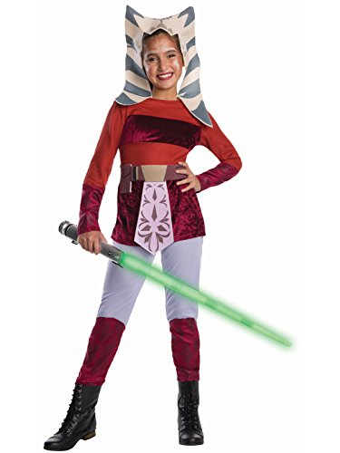 Star Wars Animated Deluxe Ahsoka Child Costume Medium