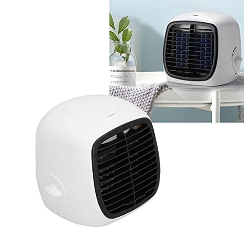 Yeelur Enfriador de Aire, Ventilador de Escritorio 2 en 1 para Oficina para Dormitorio para el hogar