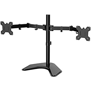 "1home Double Twin Arm Desk Mount Stand LCD LED Monitor Computer 13""-27"" Screen TV:Donald-trump"