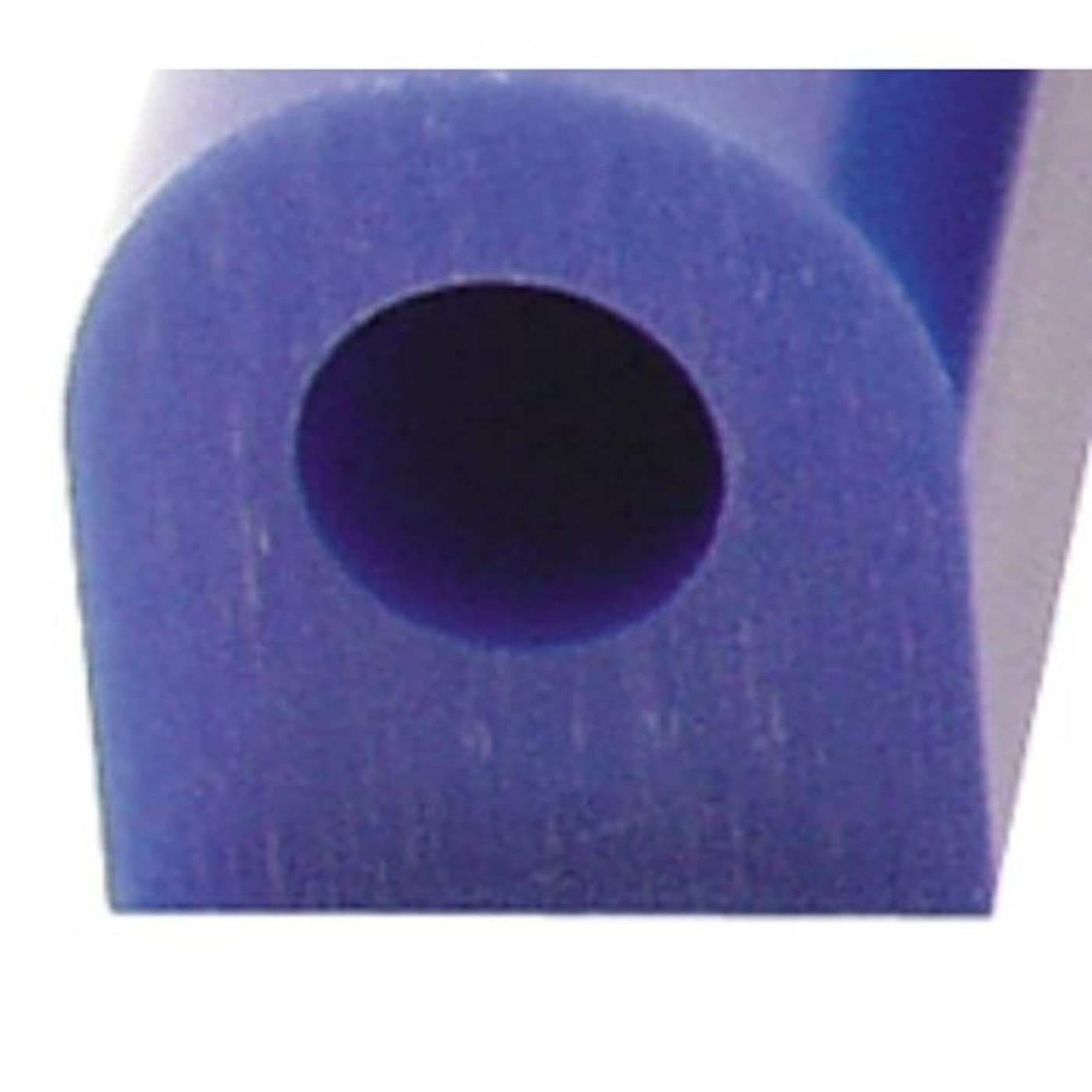 Carving Wax Ring Tube, Extra Large Flat Side Tube, Blue   WAX-321.40