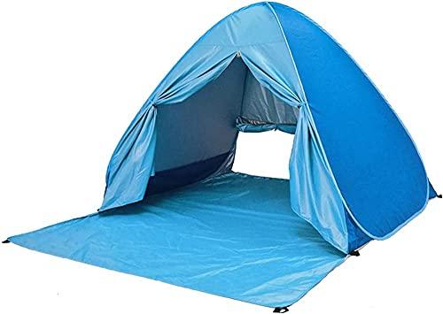 QPP-CL Tienda de Playa, portátil Pop Up Sun Shelter, con Bolsa de Transporte Anti UV Instant Portable Tent Sun Shelter Sombra de Playa