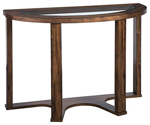 Signature Design by Ashley T725-4 Hannery Sofa Table, Brown