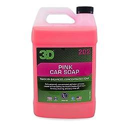 Image of 3D Pink Car Wash Soap | Car...: Bestviewsreviews