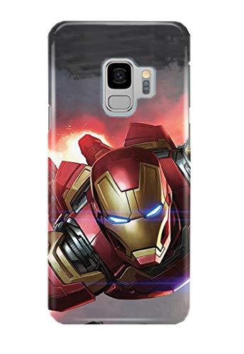 Hülle Me Up Handy Hülle für Samsung Galaxy S9 Iron Man Tony Stark Superhero Marvel Comics 14 Designs