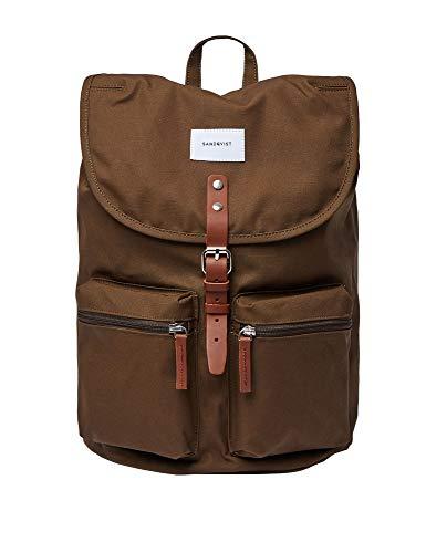 Sandqvist Roald Olive sac à dos Daypack vert