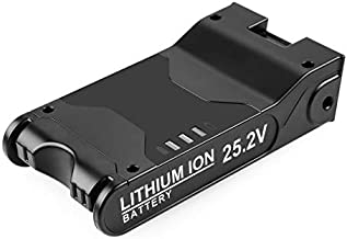 Yabelle 25.2V 3000mAh Lithium-ion Battery Replacement Shark XBAT200 for Shark ION Rocket IONFlex ION F80 IONFlex 2X Cordless Vacuums