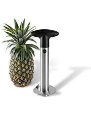 Stainless Steel Pineapple Corer Cutter Slicer Wedger Dicer Peeler Fruit Tool - cut pineapple quick and easy without a knife…