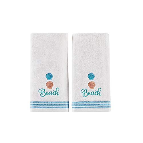 SKL Home by Saturday Knight Ltd. South Seas 2-Piece Hand Towel Set, White