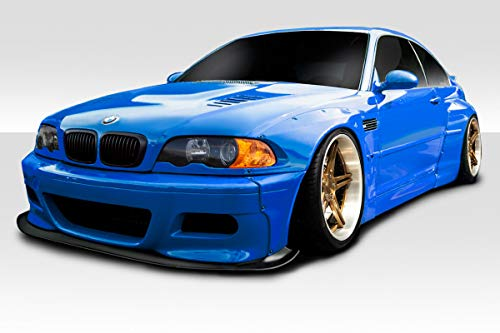 Extreme Dimensions Duraflex Replacement for 2001-2006 BMW M3 E46 Circuit Wide Body Kit - 6 Piece