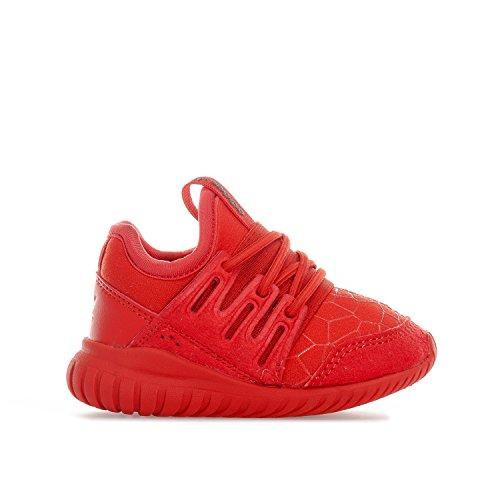 adidas Tubular Radial EL - Rot - Größe: 21 UK (5K)