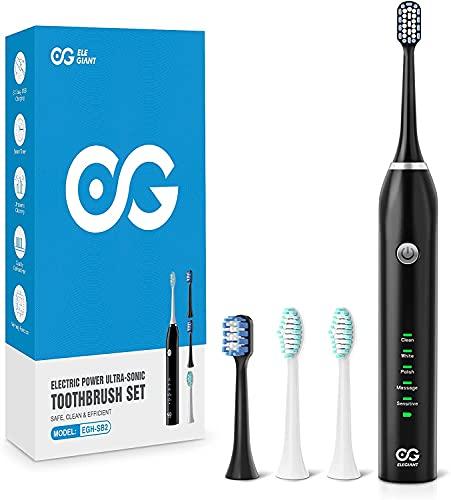ELEGIANT Cepillo de dientes eléctrico...