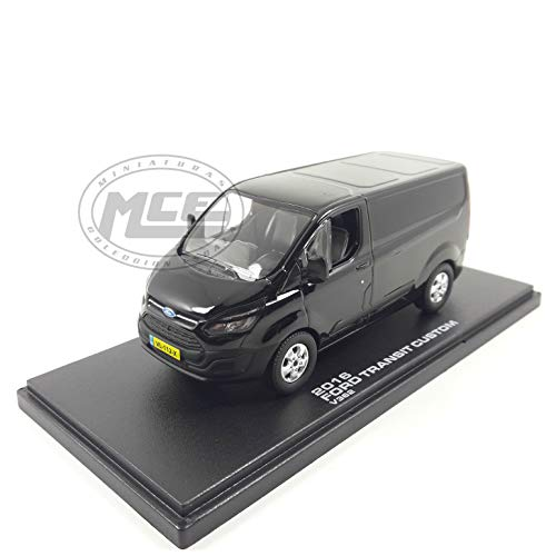 Desconocido 1//43 Furgoneta Ford Transit Van Custom V362 MCA 2018 Blanca Greenlight