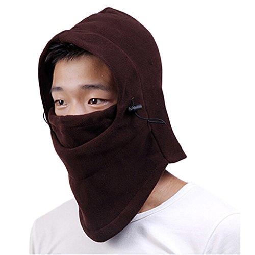 Térmica chendongdong bestdental-uso pasamontañas cuello polar invierno mascarilla facial tapa
