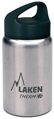 Laken Borraccia Termica Thermo Classic Bottiglia d'Acqua Isolamento sottovuoto Acciaio Inossidabile Bocca Larga - 3530ml, Argento