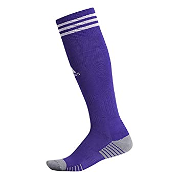 adidas Unisex Copa Zone Cushion IV Soccer Socks  1-Pair  Collegiate Purple/White 13C-4Y
