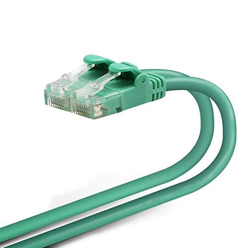 エレコム LANケーブル 1m 爪折れ防止コネクタ やわらか CAT6準拠 グリーン LD-GPY/G1