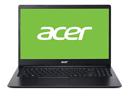 Acer Aspire 3 (A315-34-P00V) 39,6 cm (15,6 Zoll Full-HD matt) Multimedia Laptop (Intel Pentium N5000, 8 GB RAM, 256 GB PCIe SSD, Intel UHD, Win 10 Home) schwarz