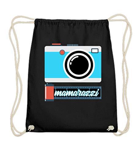 Chorchester Mamarazzi Mamas Lieben Photographes en coton - Noir - Noir, 37cm-46cm