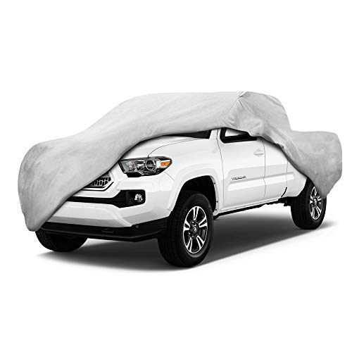 Motor Trend T-850 Waterproof Truck Cover for 2005-2014 Toyota Tacoma - Regular Cab Custom Fit Outdoor Protection