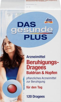 DAS gesunde PLUS Beruhigungs-Dragees Baldrian & Hopfen, 120 St Arzneimittel