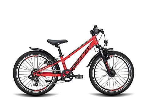 ConWay MC 200 Suspension Kinder Mountainbike Kinderfahrrad MTB Fahrrad red/Black 2020