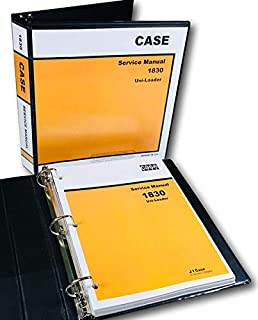 Case 1830 Uni Loader Skid Steer Technical Service Manual Shop Book