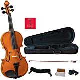 H. Siegler HS-20 Student Orchestral Violin Outfit with genuine Ebony fittings
