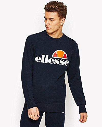 ellesse Succiso Sweatshirt/Pullover, für Herren L Blau (Kleid blau)