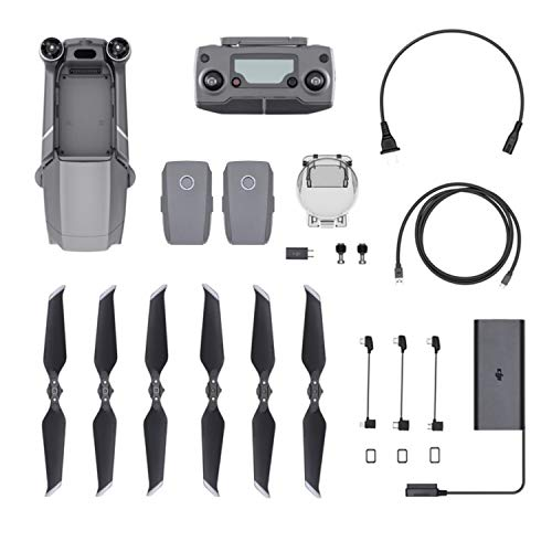 DJI Mavic 2 Pro Drone Quadcopter with Hasselblad Camera, comes 2 Batteries, 64GB Extreme Micro SD, PGY ND Filter, Landing Pad, Signal Booster, Water Resistant Carrying Case, 1 Year Limited Warranty