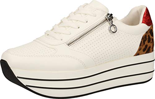 s.Oliver 5-5-23641-34 Damen Sneakers Weiß, EU 39