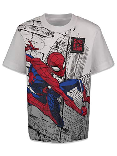 Product Image 4: Marvel Spiderman Toddler Boys 4 Pack Graphic T-Shirts 4T