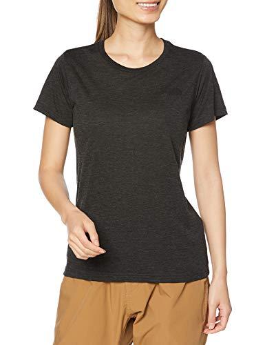 [ザノースフェイス] Tシャツ ショートスリーブフラッシュドライメリノクルー レディース NTW32087 ミックスチャコール2 S