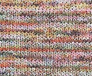 Edition printemps 2019! 2 x 50 g Lily – Couleur : 96 – Beige – Fil de mode unique – Dégradé, dégradé de couleurs contrastées avec des entrées de couleur rythmique changeantes.