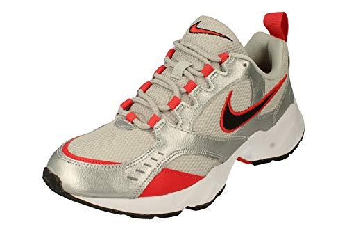 Nike Air Heights, Scarpe da Ginnastica Uomo, Grey Fog Black Metallic Silver, 38.5 EU