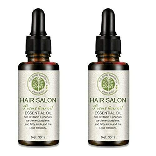 hmkazm Hair Regrowth Serum Hair Salon, Haarwachstumsspray, Anti-Haarausfall, Förderung des Haarwachstums, Haar-Serum Stärkt die Haarwurzeln, Haarausfall-Behandlung für...