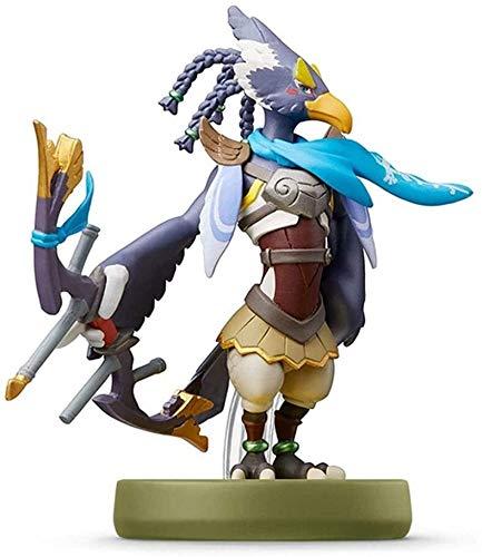 Byrhgood Super Smash Bros. Amiibo: Revali Figurine!Super Smash Bros. Action Figure della Serie di Gioco Masterpiece Figura raccoglibile da Giappone Import (Wii U / 3DS / Switch)